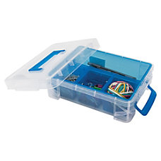 Advantus 4 compartment Plastic Supply Box