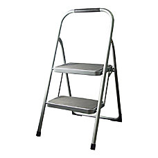 Gorilla Ladders Steel 2 Step Folding