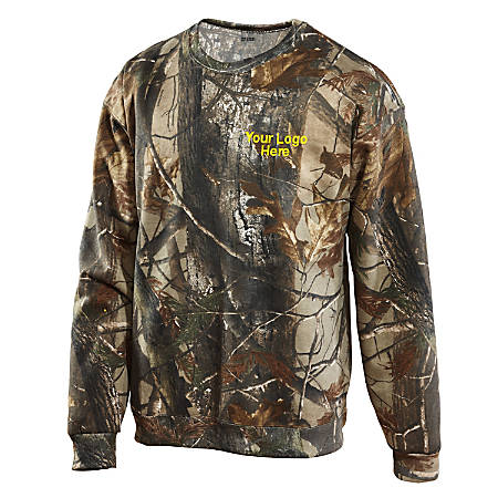 Camouflage Sweatshirt, Realtree Camo
