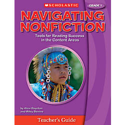 Scholastic Navigating Nonfiction Teacher Edition Grade