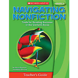 Scholastic Navigating Nonfiction Teacher Edition Grade