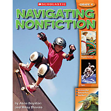 Scholastic Navigating Nonfiction Student Edition Grade