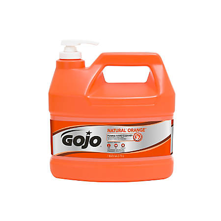 GOJO® Natural Orange Pumice Heavy-Duty Hand Cleaner, 1 Gallon