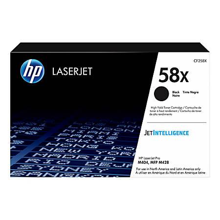 HP LaserJet 58X High-Yield Black Toner Cartridge (CF258X)