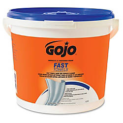 Gojo Fast Towels HandSurface Cleaner 9