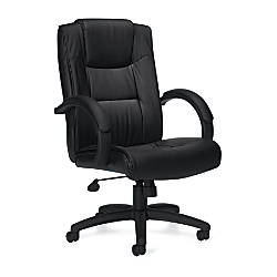 Offices To Go Luxehide Leather Executive