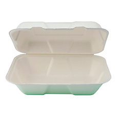 StalkMarket Compostable Hinged Hoagie Containers 10