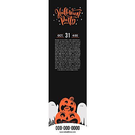 Vertical Banner Template, Pumpkin