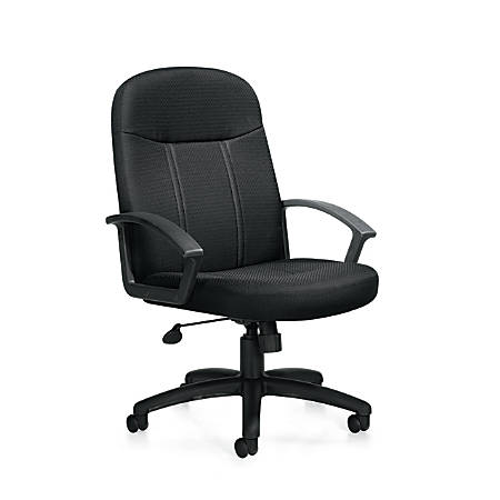 """Offices To Go™ Tilter Chair With Arms, 41""""H x 26 1/2""""W x 24""""D, Black"""