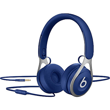 Beats by Dr. Dre EP On-Ear Headphones - Blue - Stereo - Mini-phone - Wired - Over-the-head - Binaural - Supra-aural - Blue