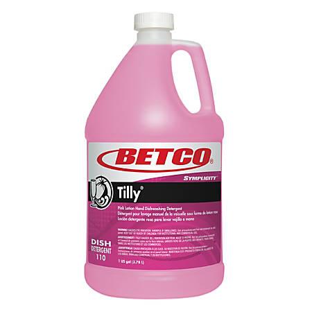 Betco® Symplicity™ Tilly® Hand Dishwashing Detergent, 128 Oz, Case Of 4 Bottles