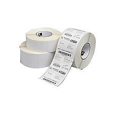Zebra Label Paper DQ8712 4 x
