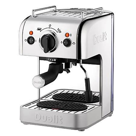 Dualit® 3-In-1 Espresso Machine, Chrome