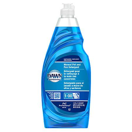 Dawn® Professional Dishwashing Liquid, Blue, 38 Oz, Carton of 8