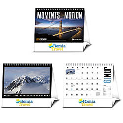Moments In Motion Desk Calendar January
