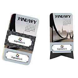 Calendar Cards Vintage January December Pack