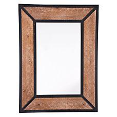 Zuo Modern Balc Metal Rectangular Mirror