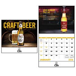 Craft Beer 13 Month Calendar Stapled