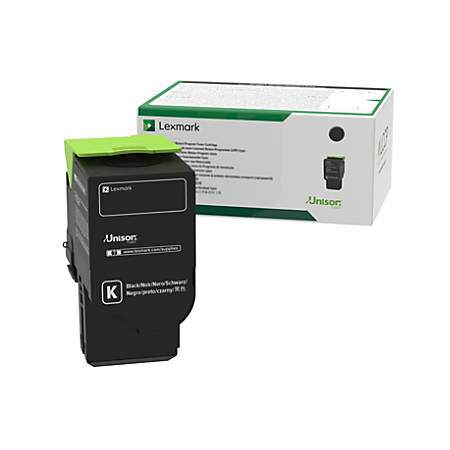 Lexmark™ 78C0UKG GSA Ultra-High-Yield Return Program Black Toner Cartridge