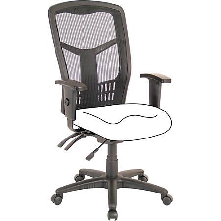 Lorell High Back Chair Frame - Black - 1 Each