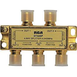 RCA 4 Way 24 Ghz Splitter