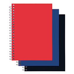 office depot brand poly cover wirebound notebook 5 x 7 college ruled