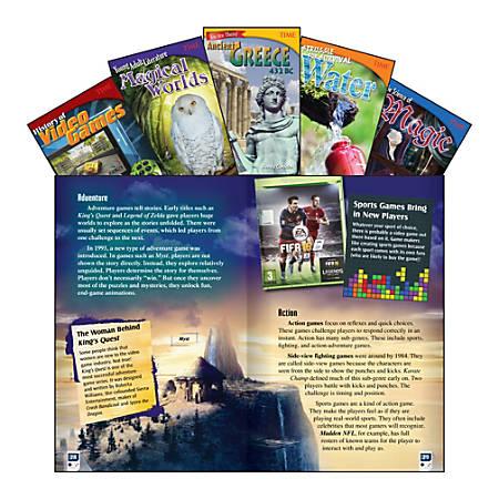 Teacher Created Materials TIME Informational Text Set, Set 1, Grade 6, Set Of 5 Books