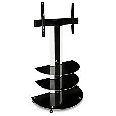 Mount It Rolling TV Cart For