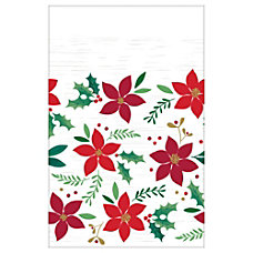 Amscan Christmas Wishes Plastic Table Covers