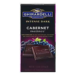 Ghirardelli Intense Dark Chocolate Cabernet Matinee