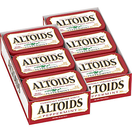 Altoids Peppermint Mint Tin, 1.76 Oz Tin