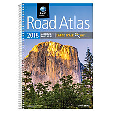 Rand McNally Large Scale Road Atlas