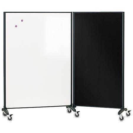 Quartet Room Divider Connector Kit Black - Quartet Room Divider Connector Kit Black By Office Depot & OfficeMax