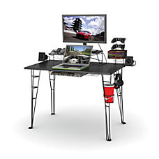Atlantic Gaming Desk Black