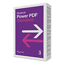 Nuance Power PDF Standard 30 Traditional