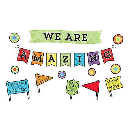 Carson-Dellosa Celebrate Learning We Are Amazing Bulletin Board Set
