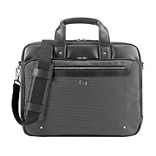 Solo Park Briefcase With 156 Laptop