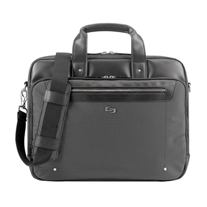 Solo Park Briefcase With 15 6 Laptop Pocket 12 H X 16 W 3 D Black By Office Depot Officemax