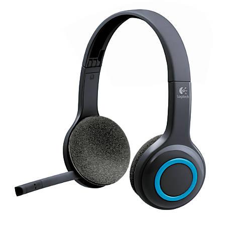 Logitech H600 Wireless Headset, Black