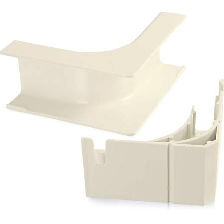 C2G Wiremold Uniduct 2900 Bend Radius Compliant Internal Elbow - Ivory - Ivory - Polyvinyl Chloride (PVC)