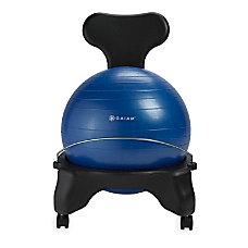 Gaiam Classic Balance Ball Chair Blue