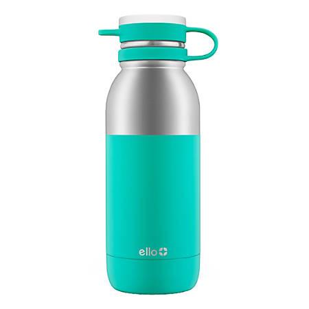 Ello Damen Insulated Stainless Steel Water Bottle, 20 Oz, Mint