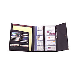 Rolodex business card book 240 cap black by office depot officemax rolodex business card book 240 cap black colourmoves