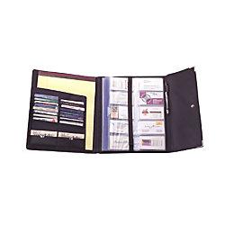 Rolodex Business Card Book 240 Cap Black Office Depot