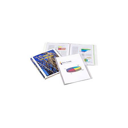 Cardinal® ShowFile™ Display Books, 6 Pockets, Black