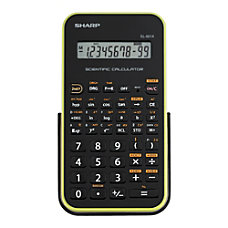 Sharp EL 501XBGR Scientific Calculator Green