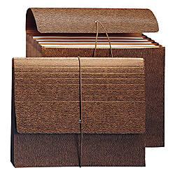 Smead 6 Pocket Leather Like Partition