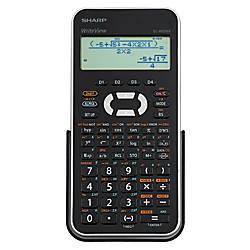 Sharp EL W535XBSL Scientific Calculator silver