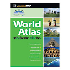 Kappa Map Group World Scholastic Atlases