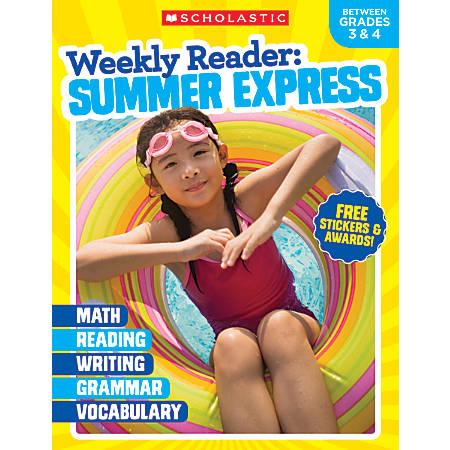 Teacher Resources Weekly Reader Workbook: Summer Express, Grades 3-4